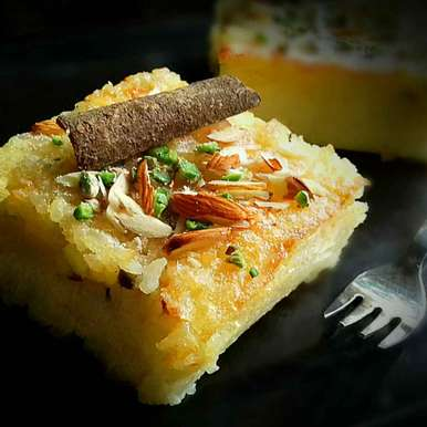 Photo of Baked rice pudding by Tamali Rakshit at BetterButter