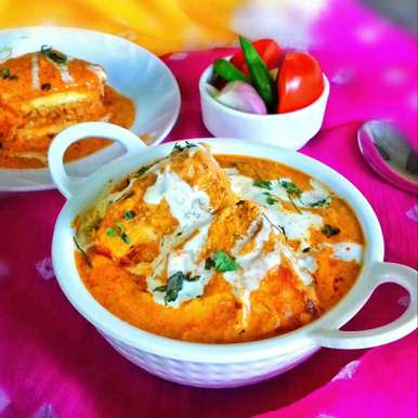 Photo of Chicken stuffed paneer butter masala by Tamali Rakshit at BetterButter