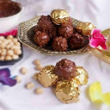 Fererro Rocher recipe in Bengali,ফেরেরো রসার, Tanhisikha Mukherjee