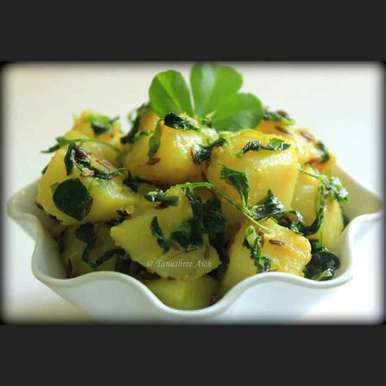 Photo of Aloo Methi by Tanushree Aich at BetterButter