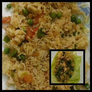 Photo of Leftover Rice Tadka by Tanvi Sharma at BetterButter
