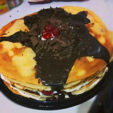 pancake, How to make pancake