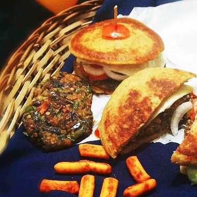 Oats burger recipe in Gujarati, ઓટસ બર્ગર, safiya abdurrahman khan
