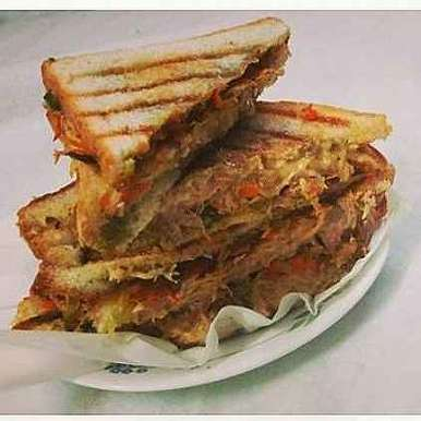 Photo of Chicken Veggie Mayo Grilled Sandwich by safiya abdurrahman khan at BetterButter