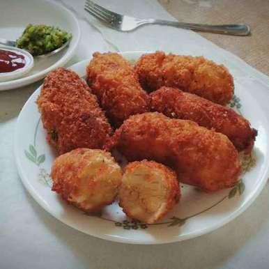 Photo of Cheesy potato croquetts by safiya abdurrahman khan at BetterButter