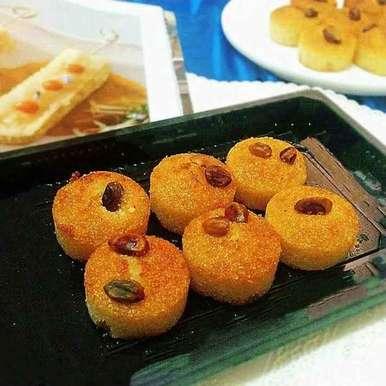 Photo of Mini cheesecake basbousa by safiya abdurrahman khan at BetterButter