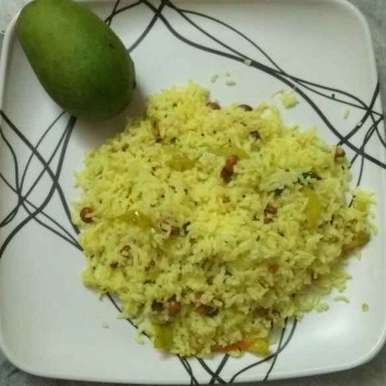 Photo of Mango tiger rice by Tejaswi Yalamanchi at BetterButter