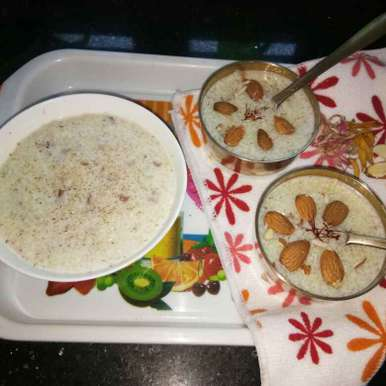 Photo of Rice almond pudding by Teju Auti at BetterButter