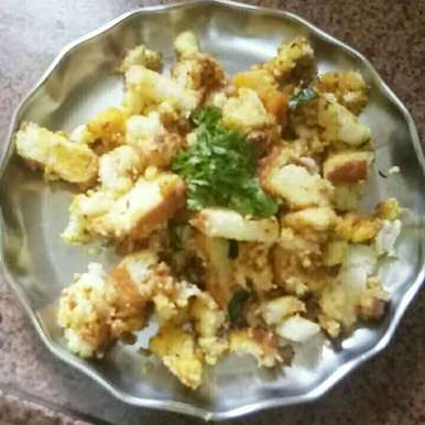 Photo of Bread poha by Terala Sirisha at BetterButter