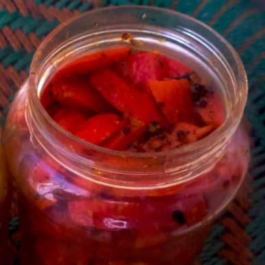 Photo of Instant Carrot Pickle by Tikuli Dogra at BetterButter