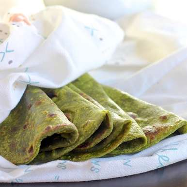 Photo of Spinach Roti by Tisa Jacob (Thomas) at BetterButter