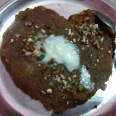 Photo of Suji Heart Cake by Tiwari Mohini at BetterButter