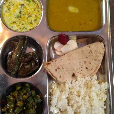 Photo of U.P. bhojan thali by Tiwari Mohini at BetterButter