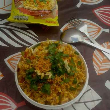Photo of Noodles bhel by vijay laxmi Vyas at BetterButter