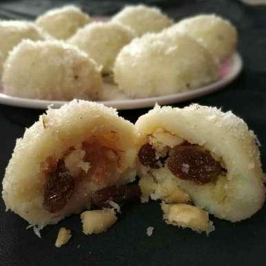Stafed ravaa boll recipe in Gujarati, સ્તફેડ રવા બોલ, vijay laxmi Vyas