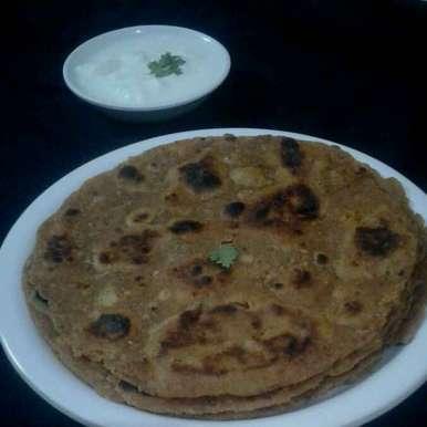 Photo of Aalu thepla by vijay laxmi Vyas at BetterButter