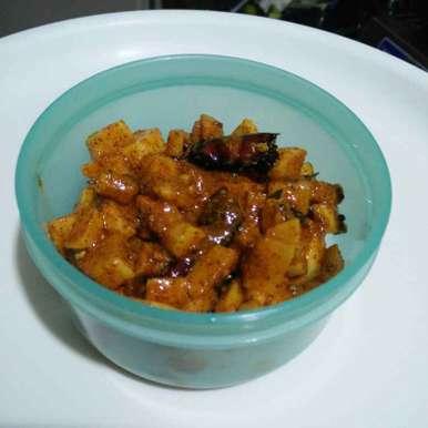 Radish chutney recipe in Telugu,ముల్లంగి పచ్చడిముక్కలు, రమ్య వూటుకూరి