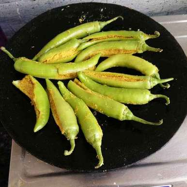 Photo of stuffed mirchi by రమ్య వూటుకూరి at BetterButter