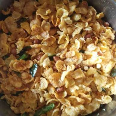 Photo of Cornflakes mixture  by రమ్య వూటుకూరి at BetterButter
