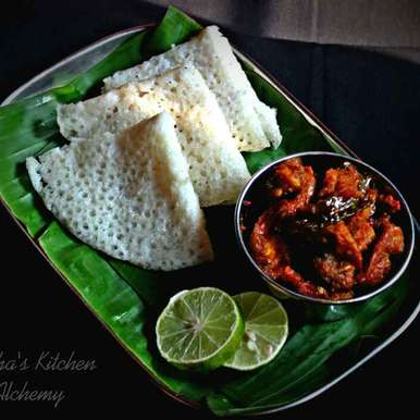 Photo of Neer Dosa/Panpolo by Trisha Rudra at BetterButter