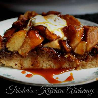 Photo of Apple Pie Bread Pudding by Trisha Rudra at BetterButter
