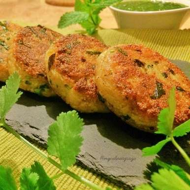 Photo of SEMOLINA OR UPMA CUTLETS by Trupti Kharche at BetterButter