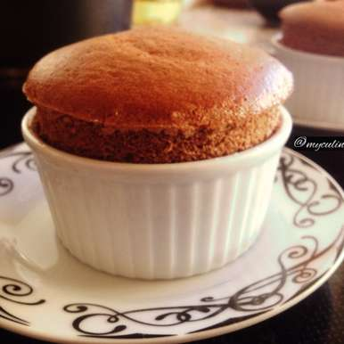 Photo of Chocolate Souffle by Trupti Kharche at BetterButter