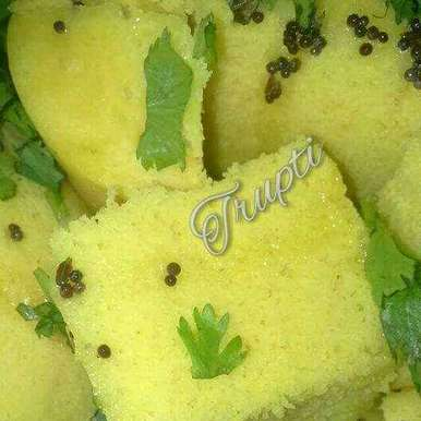 Photo of Dhokla by Trupti Raut at BetterButter