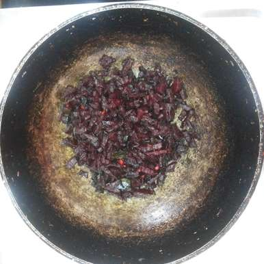 Photo of Beetroot fry by Tulasi Spandana at BetterButter