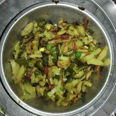 Photo of Mixed Veg Bhaji by Tumpa Roy at BetterButter