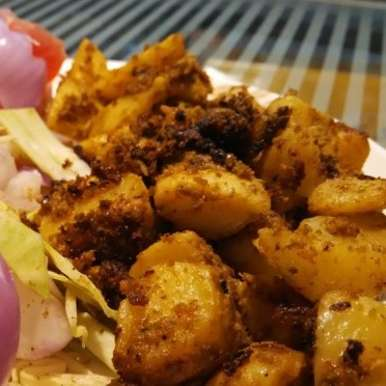 Photo of Spicy Potato Fry by U K at BetterButter