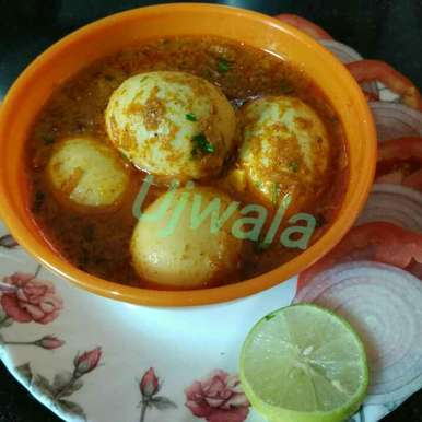 Photo of Eggs curry by Ujwala Nirmale at BetterButter