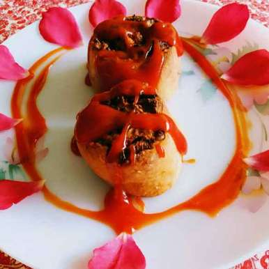Photo of Aalu aur paneer ke pinwheels by uma Pandit at BetterButter