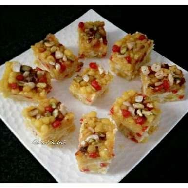 Photo of Curd fudge by Uma Sarkar at BetterButter