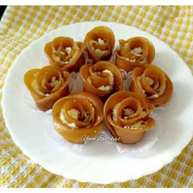 Photo of Mango flower SANDESH by Uma Sarkar at BetterButter