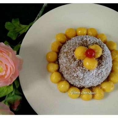 Photo of Mango Sago Cake by Uma Sarkar at BetterButter