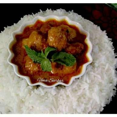 Photo of Malai Prawn kofta curry by Uma Sarkar at BetterButter