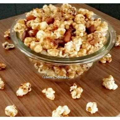 Photo of Caramel Butter Popcorn by Uma Sarkar at BetterButter