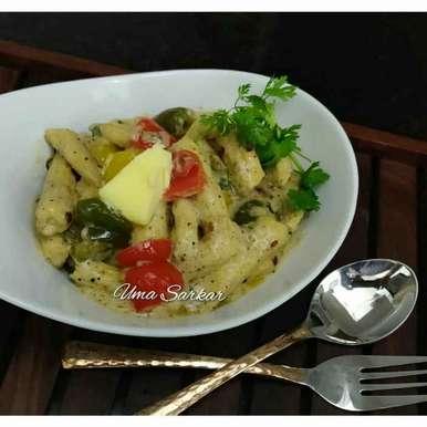 Photo of Buttery sauce babycorn by Uma Sarkar at BetterButter