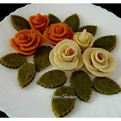 Photo of Halwa flowers by Uma Sarkar at BetterButter
