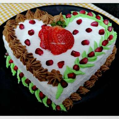 Photo of Fruits bread cake by Uma Sarkar at BetterButter