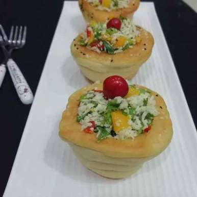 Photo of Paneer Bread Basket by Urvashi Belani at BetterButter