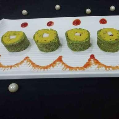 Corn shushi roll recipe in Gujarati, મકાઈ શુશી રોલ, Urvashi Belani