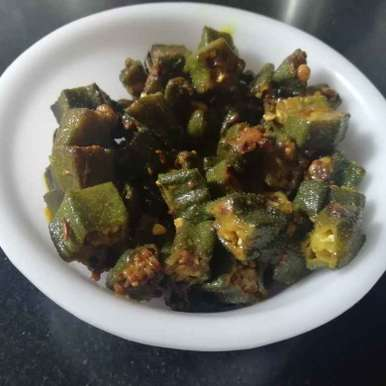 Veg lady finger recipe in Gujarati, ભીંડા નું શાક, Urvashi Belani