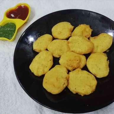 Photo of Potato fritters by Urvashi Belani at BetterButter