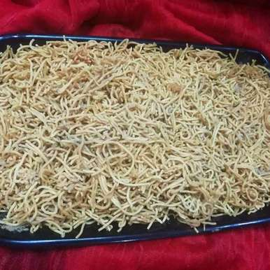 Photo of Potato sev bhujiya by Urvashi Belani at BetterButter