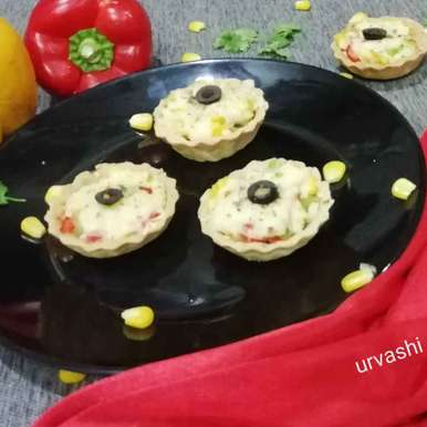Photo of Cookies with italian tadka form of tarts by Urvashi Belani at BetterButter