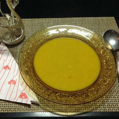 Photo of Pumpkin soup with Coconut milk by usha balagopal at BetterButter