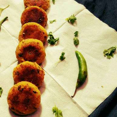 Photo of Left over rice cutlet by Usha Bohraa at BetterButter
