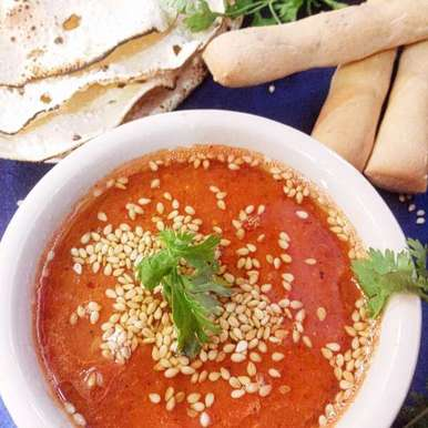 Photo of Tomato and bell pepper chutney by uzma shouab at BetterButter